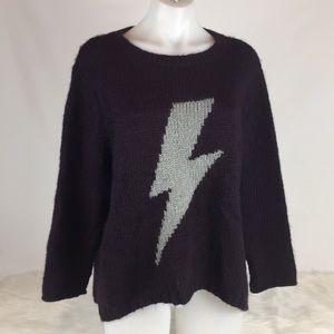 Wooden Ships Lightning Bolt Sweater